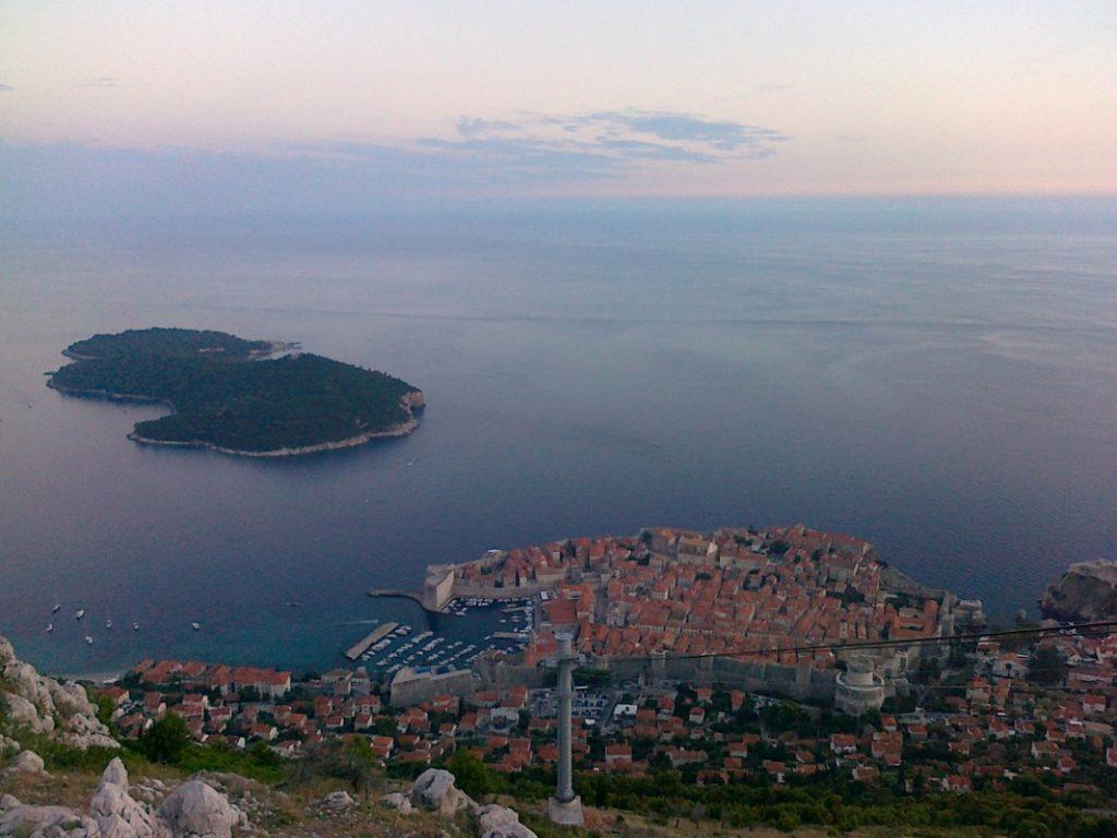 <b>Maciej Chmielewski</b>Dubrovnik z platformy widokowej